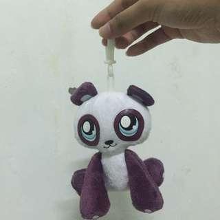 Gantungan kunci panda