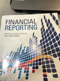 Financial reporting and company accounting textbook curtin singapore