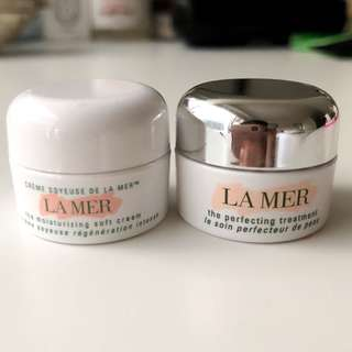 La mer soft cream & perfecting treatment