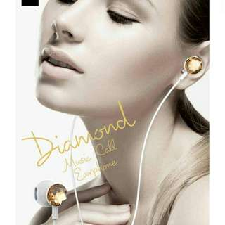 Mizoo Diamond Music Call Earphone