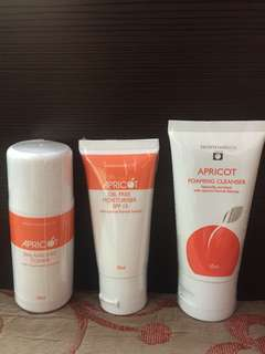Apricot Basic Set (Travel Pack)