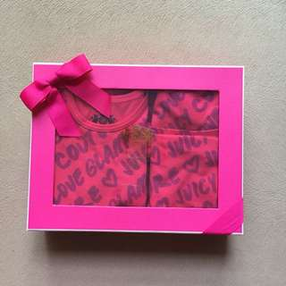 Juicy Couture Baby Gift Set 9-12mth