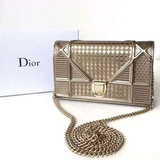 RENT - DIOR GOLD WALLET ON CHAIN