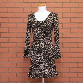 Leopard print dress (KA 1036)