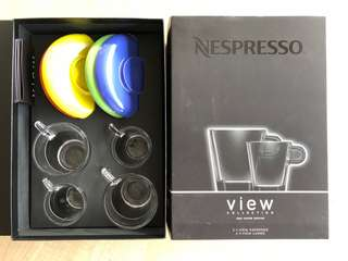 Nespresso 2 View Cups set