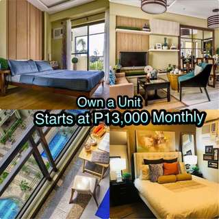 13K Pre-Selling Condominium in Cubao Quezon City (BIGGER UNIT LAYOUTS)