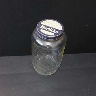Horlick Glass Jar
