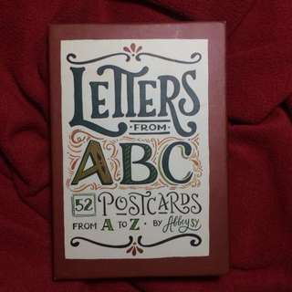 Letters from ABC postcards by Abbey Sy