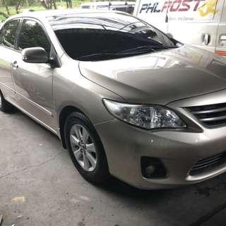 2012 Corolla Altis