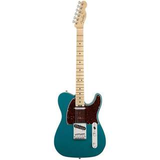 FENDER AMERICAN ELITE TELECASTER ELECTRIC GUITAR, MAPLE FB, OCEAN TURQUOISE