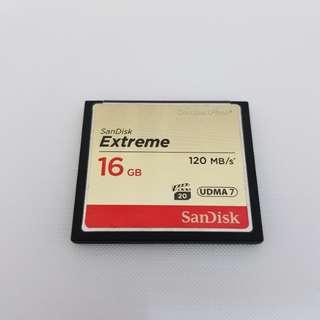 CF card 16GB/120MB