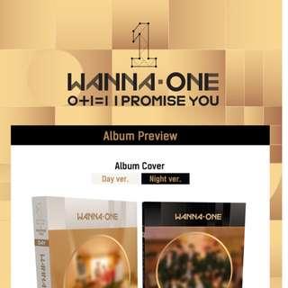 [PO][GO] WANNA ONE - 0+1=1 (I PROMISE YOU) (2ND Mini Album)