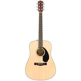 FENDER CD-60S DREADNOUGHT ACOUSTIC GUITAR PACK, NATURAL