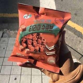 韓國7-11限定 2018新品 提拉米蘇巧克力 60g