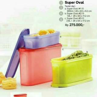 Super oval tupperware
