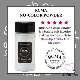 RCMA NO COLOR POWDER SETTING