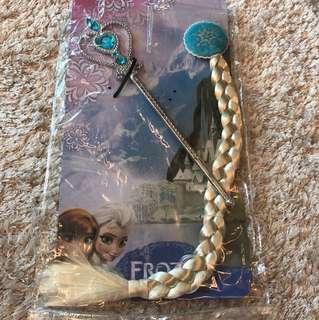 Frozen hair accessories and wand