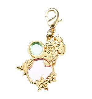 日本 Disney Store 直送 Petit Jewelry 系列 The Little Mermaid 小魚仙 Ariel 飾物扣 / 掛飾