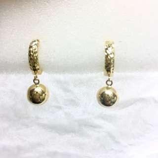14K earrings 1.9g