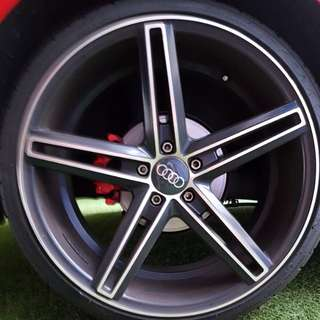 18 inch Rims and tyres Audi A1