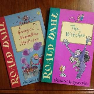 Story books by Roald Dahl