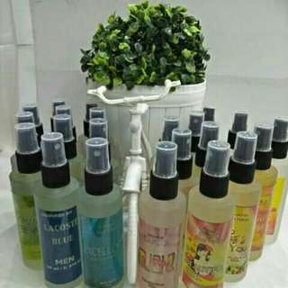 Oil based perfumed