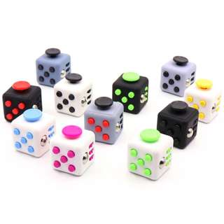 PREORDER! Fidget mini Cube Magics fidget spinner cubes Antistress cube Relieve Stress Anxiety Boredom Toy university clicker