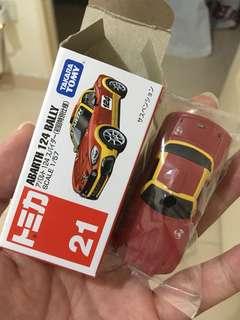 Takara Tomy Tomica Abarth 124 Rally