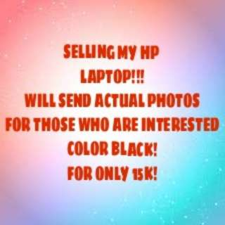 SELLING MY HP LAPTOP