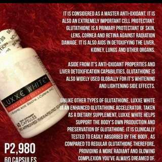 Luxxe White Gluta And Soap