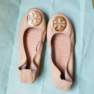 Good condition beige size 38flats