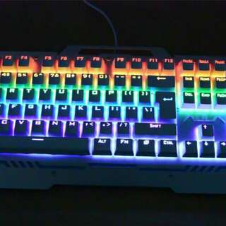 AULA Reaper 104 Key Collision Free Backlight PC Gaming Metal Mechanical Keyboard