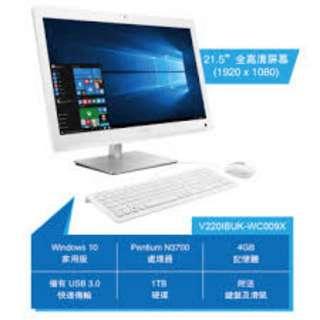 Vivo AiO 21.5吋一體式電腦 (V220IBUK-WC009X) - 白色