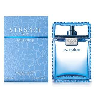 Versace Man Eau Fraiche EDT for Men (50ml/100ml/200ml/Tester/GiftSet) Blue