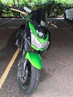 2011: Z1000 Condition Very Good, Well Maintained Bike, Reason Selling: Owner wanna upgrade. BIke 100% got no problem✔️ Just Buy & Ride. CASH ONLY: RM 40knett