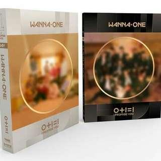 Wanna One Mini Album Vol. 2 - 0+1=1 (I Promise You) .