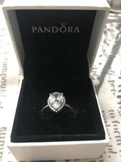 Pandora Radiant Large Teardrop Ring