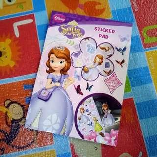(BNEW) Sofia Sticker Pad