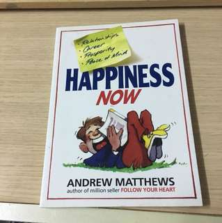 happiness now  英文書