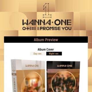 [EMS PO] wanna one I PROMISE YOU album