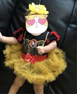 Baby snowhite dress