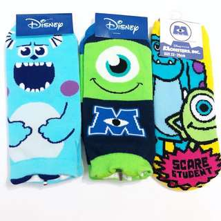 Monster inc mike and sulley socks