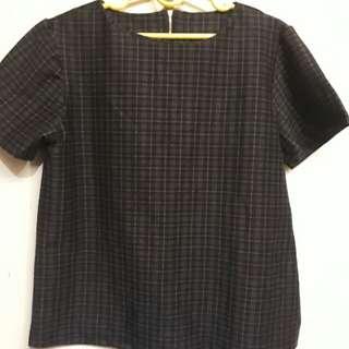 Plus size stretchable blouse