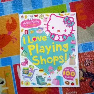 (BNEW) Hello Kitty Activity Book