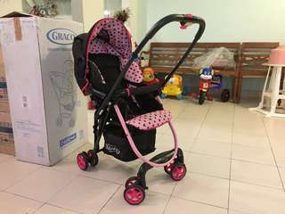 Graco Minnie Mouse Stroller