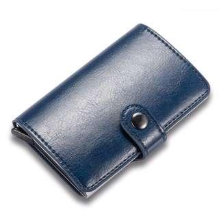 Automatic Pop-Up Minimalist Wallet/ Card Holder #FEB50