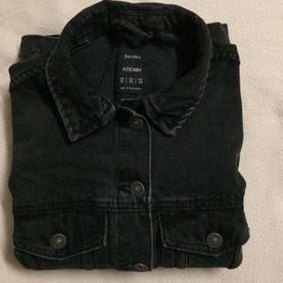 Bershka Black Denim Jacket