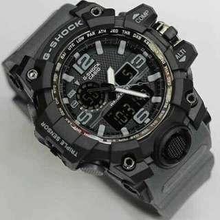Jam tangan g shock dualtime list abu