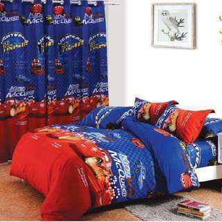 Premium Character Bed Sheet 4 in 1 Set (Cars K4)