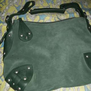 Furla suede hobo bag repriced!!!